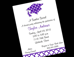 Make A Invitation Card Graduation Party Invitation Wording Redwolfblog Com