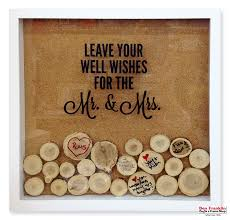 wedding wishes keepsake shadow box ben franklin crafts and frame shop wa diy wedding wish