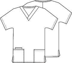 scrub top s 2 pocket 4700 central uniforms