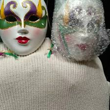 mardi gras ceramic masks best mardi gras ceramic masks set of 2 for sale in cypress