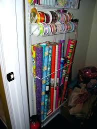 how to store wrapping paper wrapping paper storage ideas what a clever idea to store