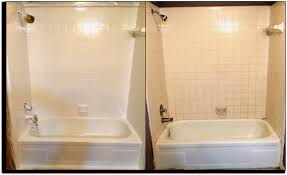 Painting Bathroom Tile by Awesome Painting Bathroom Tile Before And After Bathroom Ideas