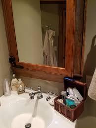 a window hidden behind the bathroom mirror album on imgur