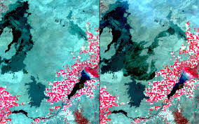 Usgs Wildfire Data by Nasa Images Show How Wildfire Water Have Changed Western