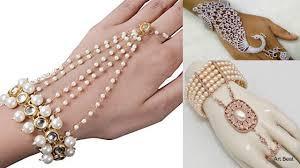 bridal bracelet with ring images Stylish ring bracelets designs beautiful bridal bracelets jpg
