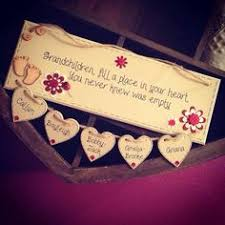 Grandparent Plaques Handmade U0027home Is Where The Heart Is U0027 Wooden Plaque On Etsy 5 50