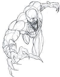 venom coloring pages spiderman venom coloring pages venom coloring
