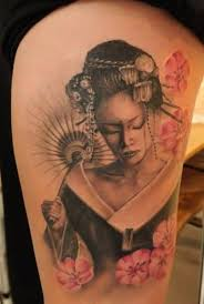 geisha japanese geisha design tattooshunter com