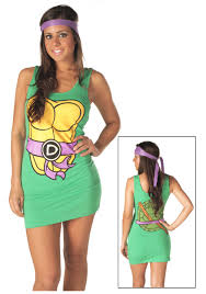 Halloween Costumes Ninja Turtles Tmnt Donatello Purple Tank Dress