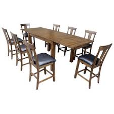 loon peak extendable dining table alder counter height extendable dining table by loon peak low price