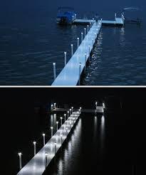 Solar Dock Lighting by Glow Solar Dock Light