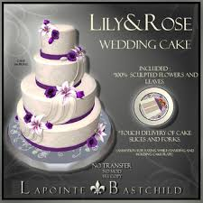 second life marketplace l u0026b wedding cake