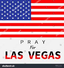 Mass Flag American Flag Pray Las Vegas Nevada Stock Vector 727983829