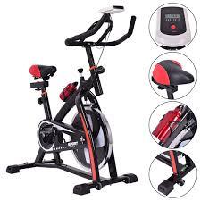 costway exercise bicycle indoor bike cycling cardio adjustable gym