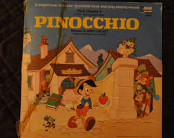 walt disney u0027s pinocchio golden book vintage