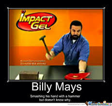 Billy Mays Meme - billy mays by drillface meme center