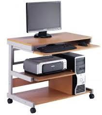 Rattan Computer Desk Computer Desk In Black Beech White U0026 Walnut With 3 Locks For Home