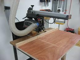 Craftsman Radial Arm Saw Table Creekside Woodshop The Workshop