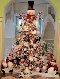 here is the snowman tree in our family game room check out my