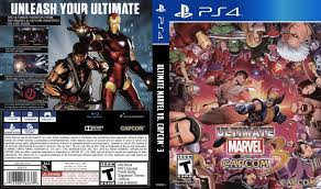 ultimate marvel ultimate marvel vs capcom 3 ps4 replacement only no