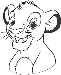 healthy unhealthy food colouring pages 2 lion king