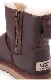 ugg s zip boots ugg womens ugg australia mini zip boot chestnut