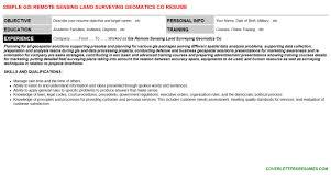 geomatics resumes u0026 cover letters
