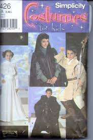 simplicity 4426 star wars halloween costume pattern children