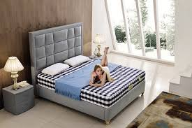China Fashion Double Bed Design Modern Bedroom Furniture Leather - Fashion bedroom furniture
