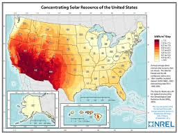 Give Me A Map Of The United States by The Solar Resource Union Of Concerned Scientists