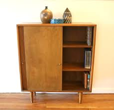 Cherry Wood Bookcase With Doors Bookshelf With Drawers And Doors Tall Storage Cabinet With Shelves
