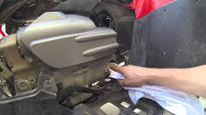 2006 honda foreman oil and filter change youtube