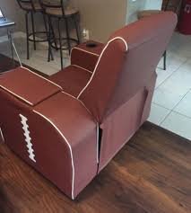 bud light football chair chair design ideas