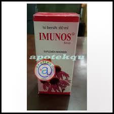 Obat Imunos imunos syrup 60 ml apotekqu apotekqu