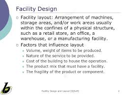 warehouse layout factors facility design and layout ppt video online download