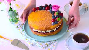 cuisine notrefamille recette du sponge cake cake design d