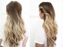 Frisuren Lange Haare Halboffen by Schöne Abendfrisuren 20 Ideen Und Styling Tipps Für Jede Haarlänge