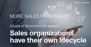 sales organizations their own lifecycle simon kucher partners
