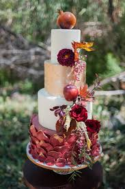fall wedding inspiration with berries ruffled