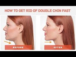 how to make a double chin look less noticable eith hair easy exercises to get rid of double chin fast youtube