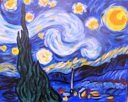 starrynight we have been painting this masterpiece at visarts since 2016 and it remains one of our most popular offerings while it is one of our more