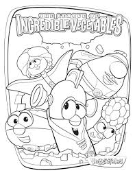 34 veggie tales coloring pages cartoons printable coloring pages