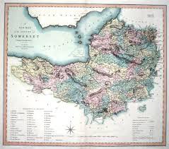 somerset map antique maps of somerset