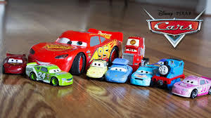 learning colors with disney pixar cars 3 and thomas the train