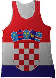 Flag Clothing Croatia Flag Tank Top Nation Tanks