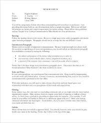 sample memo 9 examples in word pdf sample memo sample