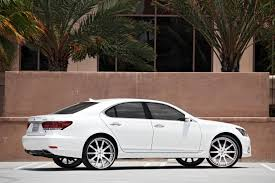 lexus ls vs acura rl lexani lf 709 on the 2013 lexus ls 460 whips pinterest
