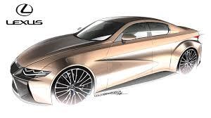 lexus sedan concept lexus is r concept on behance carsketches pinterest behance