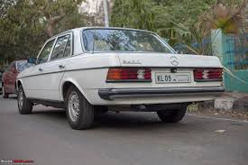 mercedes w123 240d yet another addition to the family team bhp