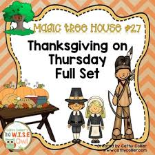 magic tree house thanksgiving on thursday 27 by cathy collier